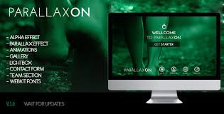 free muse template muse parallax on one page site template by zacomic themeforest
