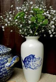 Shabby Chic Pottery by Poole Pottery Cat Pottery Cat And Japanese Bobtail