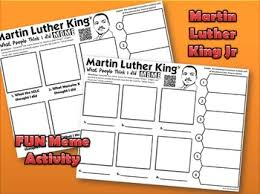 Create Memes Online - students will create a what they thought i did meme for mlk