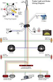 trailer wiring diagram 4 way flat for 7 blade best of plug