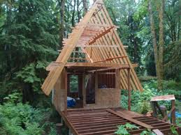 100 small a frame cabins aframe house plans stillwater