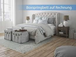schlafzimmer auf rechnung boxspringbett auf rechnung kaufen sicher und bequem