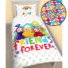 Spongebob Toddler Comforter Set by Teletubbies Duver Cover Sets Available In Single And Junior