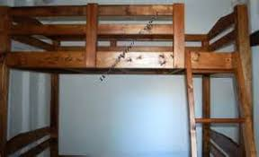 easy cheap loft bed plans image mag