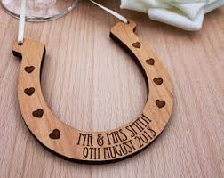 horseshoe wedding gift wedding horseshoe etsy