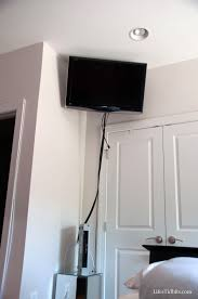 wall mounted tv hiding cables wall mount archives life u0027s tidbits
