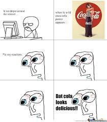 Coca Cola Meme - coca cola poster by euwonlol meme center