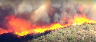 Wildfire Design Agency by Firefighters Say Drones Are Getting In The Way Of Battling