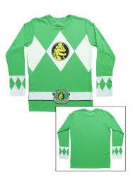 Power Rangers Samurai Halloween Costumes Green Power Rangers Long Sleeve Costume Shirt