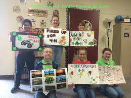 5th grade 4 h poster winners ridgemont elementary