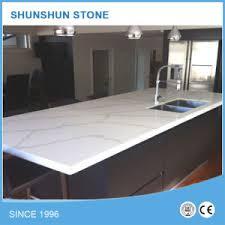 comptoir de cuisine quartz blanc calacatta quartz blanc de la pour les comptoirs de cuisine