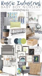 rustic industrial baby boy nursery orc week 2 inspiration
