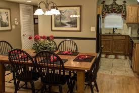 cedar dining room table cedar lodge pigeon forge condo 401 cedar lodge condominiums
