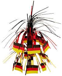 What Colors Are The German Flag Amazon Com German Flag Mini Cascade Centerpiece Party Accessory