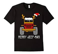 jeep christmas shirt amazon com christmas tshirt jeep ugly christmas sweater t shirt