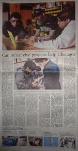 Seeking Chicago News Article Chicago Seeking Smart City Tech Solutions To
