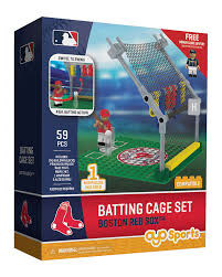 batting cage set boston red sox
