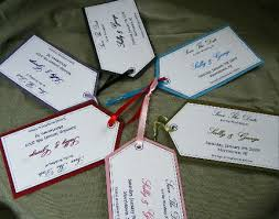wedding luggage tags help me find or make luggage tags for cards weddingbee