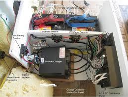electrical center for rv conversion teardrop trailer pinterest