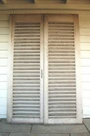Wooden Louvre Blinds Handmade Oak Louvered Shutters Le Charme De Chene Doors And