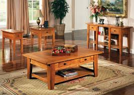 solid oak coffee table and end tables with ideas image 4829 zenboa