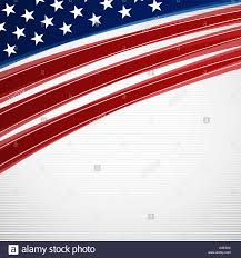 American Flag In Text Vector Illustration Of Abstract American Flag Background For Your