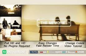 memories slideshow videohive template free after effects