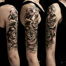 graphic roses on shoulder best ideas gallery