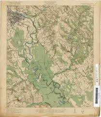 Terrain Map South Carolina Historical Topographic Maps Perry Castañeda Map