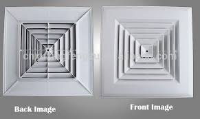 Square Ceiling Decorative Air Vent Cover Plastic Diffuser Buy