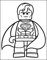 superman coloring books color zini