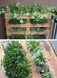 Urban Herb Garden Ideas - this is the most amazing idea great for a rental property or an