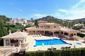 Wohnzimmerm El Calpe Luxus Immobilien Calpe Costa Blanca Spanien Zu Verkaufen