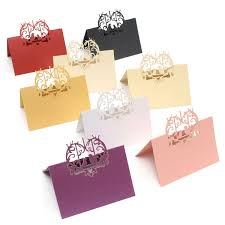 Table Name Cards by 10pcs Lot Romantic Wedding Party Table Name Place Cards Beautiful