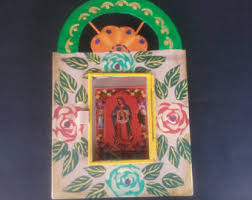 items similar to wholesale box of 40 mexican tin nichos nicho