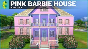 Home Design Games Like The Sims by The Sims 4 House Building Pink Barbie House Youtube