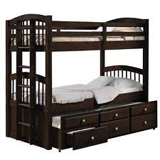 Twin Over Twin Bunk Beds With Trundle by Bunk Bed With Trundle Ebay