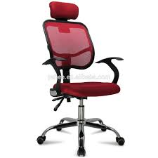 Executive Office Chairs Fabric Adjustable Chrome Executive Office Computer Desk Chair Mesh Seat