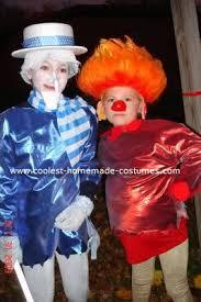 coolest snow miser and heat miser costumes heat miser