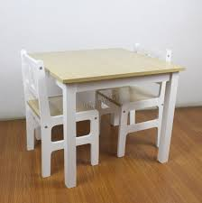 childrens wooden table and chairs foxhunter kids table with 2 chairs set children toy playroom wood