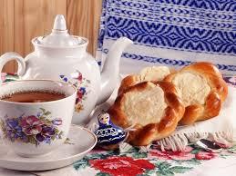 nature warmness morning warm bread tea table breakfast full hd