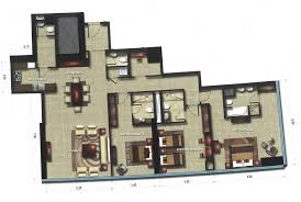 floor plans of gate tower 1 units al reem island