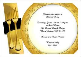 Dinner Party Invitations Dinner Party Invitation Cards 7249cs Dp