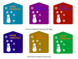 free printable christmas gift tags my practical baby shower guide