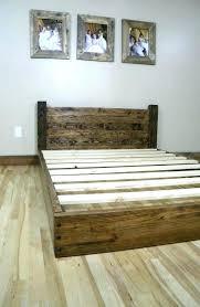 wood bed frame full u2013 savalli me