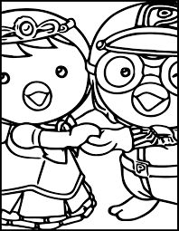 pororo coloring pages kids coloring europe travel guides com
