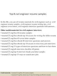 civil engineer resume cover letter resume sample civil engineer free resume example and writing we found 70 images in resume sample civil engineer gallery