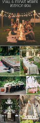 planning a small wedding stylish planning a small wedding intimate wedding ideas five