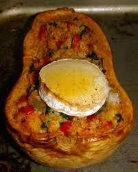 cuisiner la butternut butternut farcie pour 2 personnes recettes à table