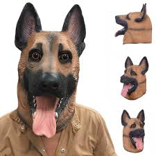 aliexpress com buy new cool wolf dog full face mask halloween